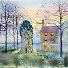 Restration Elm, Wansford, East Riding of Yorkshire by Glenn Marshall