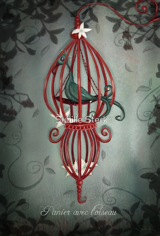Panier Avec L'Oiseau by Sybille Sterk