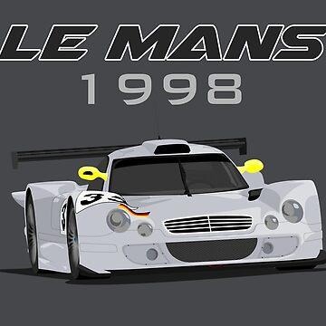 Le Mans Legend #35 - Mercedes-Benz CLK-LM by MD-Colors