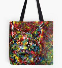 Rainbow Lynx Tote Bag