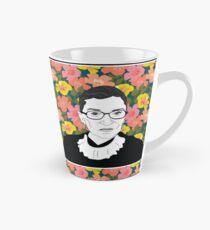 Ruth bader Ginsburg Floral Tall Mug
