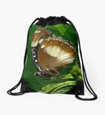 Common Eggfly Butterfly Drawstring Bag