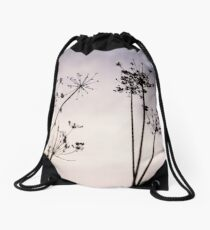 Cow parsley Drawstring Bag