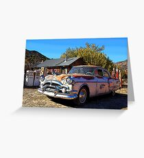 Vintage Packard Caribbean 1953 - Automobile Greeting Card