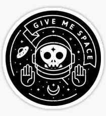 Give Me Space Sticker