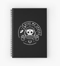 Give Me Space Spiral Notebook