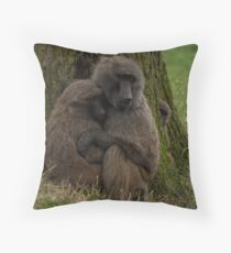Baboons Throw Pillow
