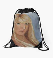 Self Portrait Drawstring Bag