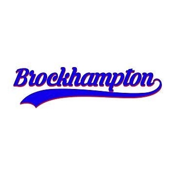 BROCKHAMPTON BASEBALL by jeffstark420