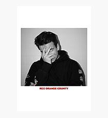 REX ORANGE COUNTY Photographic Print