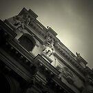 LOOKING UP IN VENICE by June Ferrol