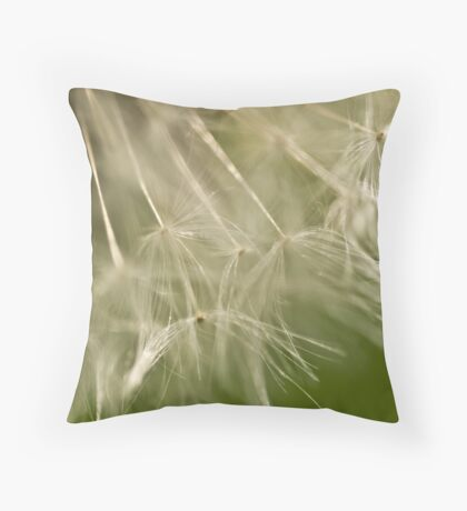 Dandelion details Throw Pillow