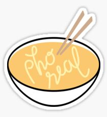 Pho Real Sticker
