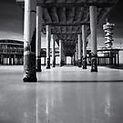 Scheveningen Pier II by Joel Tjintjelaar
