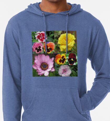 Sunkissed Summer Flowers Collage - ungerahmt Leichter Hoodie