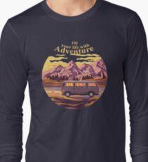 a lifetime of adventure Long Sleeve T-Shirt