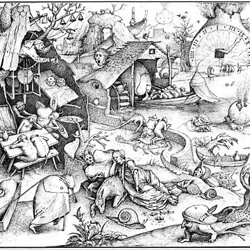 HD. Sloth, by Pieter Bruegel the Elder . HIGH DEFINITION by mindthecherry