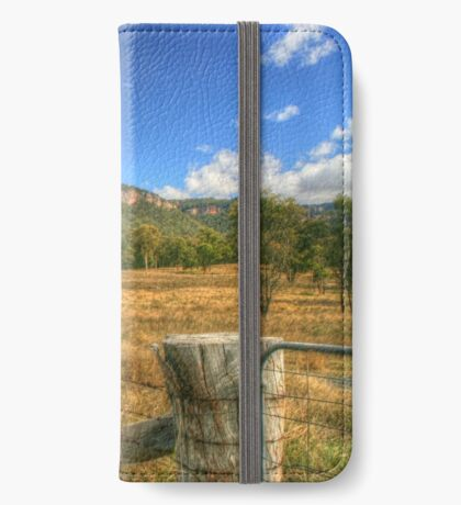Gardens of Stone iPhone Wallet