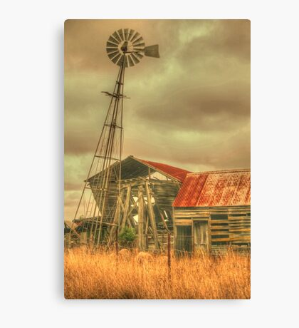 Rustic Country .. HDR Version Canvas Print
