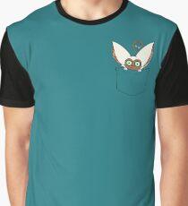 Pocket Momo Graphic T-Shirt