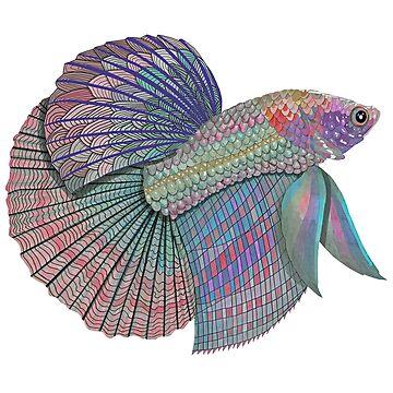 Sparkling Beta Fish by LindaMcM8