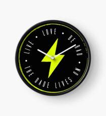 Live. Love. Be Rad. Clock