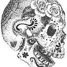 «Cráneo del azúcar» de AnnaKelleher