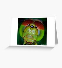 The Eyes of a Dragon Greeting Card