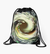 Manipulations of Reality Drawstring Bag