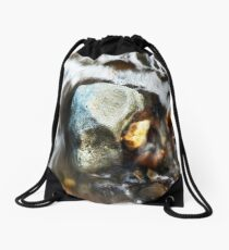 Water & Rocks Drawstring Bag