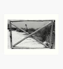 Gate + WindMill Art Print