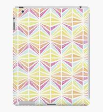 Bright Geometric Lines Pattern iPad Case/Skin