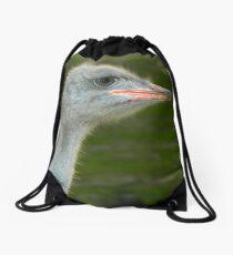 Ostrich Drawstring Bag