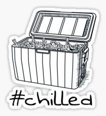 #Chilled Sticker