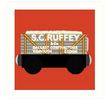 Quot S C Ruffey Wooden Train Toy Quot Laptop Skins By
