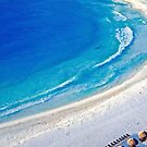 Turquoise & White Sand Beach Mexico by Lexi