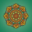 Mandala bloom by angeldecuir