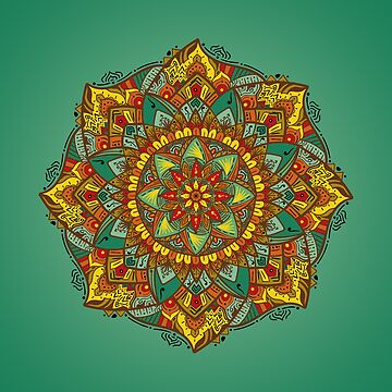 Mandala bloom by angeldecuir