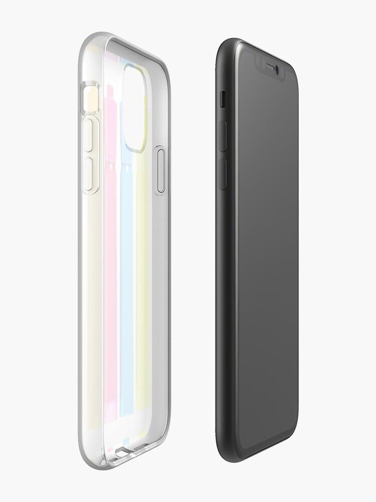 Coque iPhone «Surligneurs», par mud1017