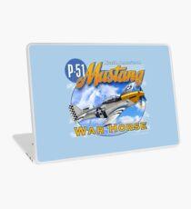 North American P-51 Mustang War Horse Laptop Skin