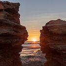 Sunrise at Entrance Point, Broome W.A. by Sandra Chung