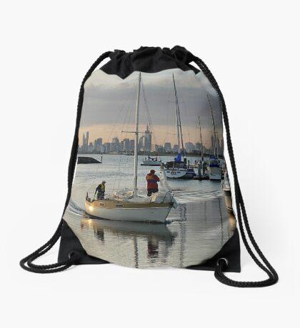 Day's End Drawstring Bag