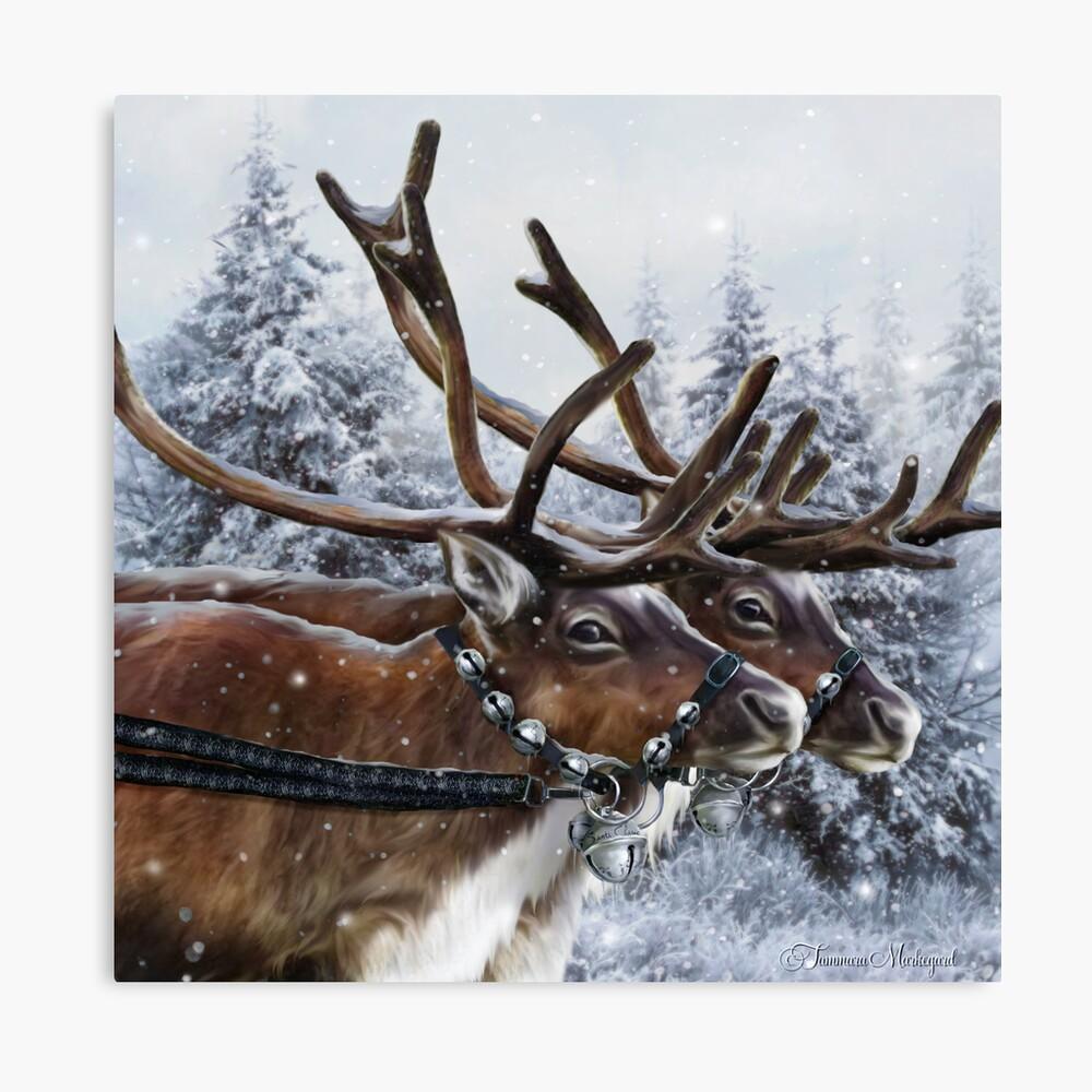 The Christmas Ride Canvas Print