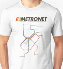 RETRO METRONET: 2013's plan T-Shirt
