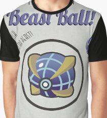 Retro Beast Ball Graphic T-Shirt