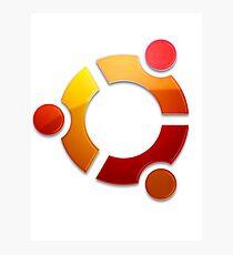 Ubuntu Logo Photographic Print