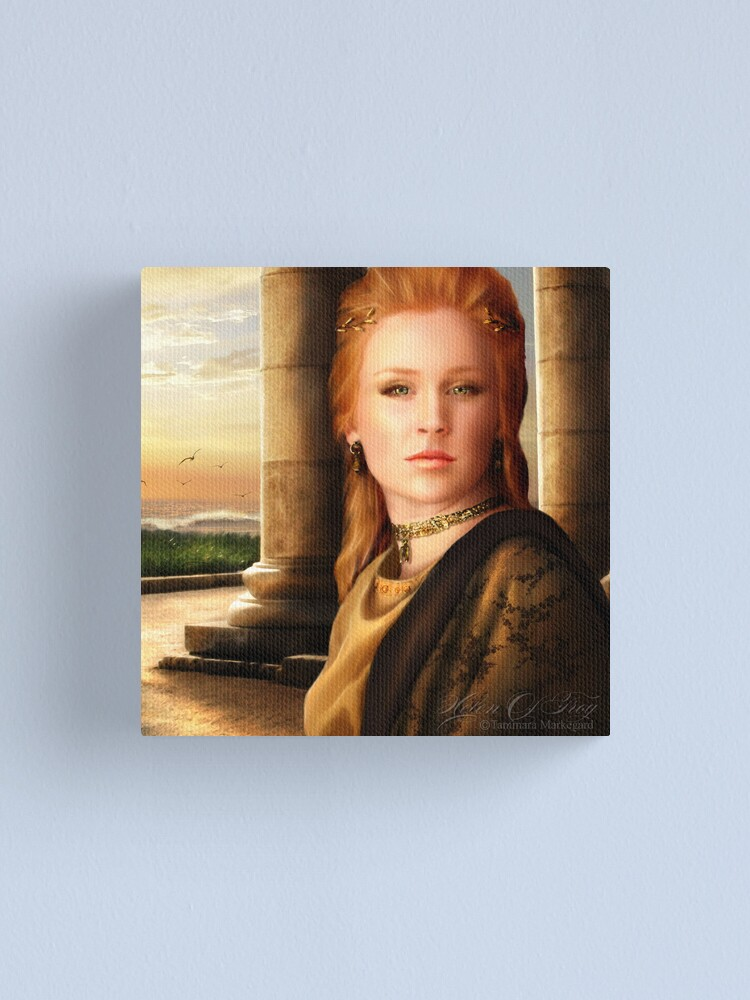 Alternate view of Helen of Troy Canvas Print