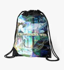 In The House Of The Avatara Drawstring Bag