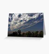 Blanket of Clouds Greeting Card