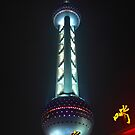 The Oriental Pearl Tower by zumi